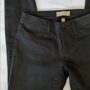 BANANA REPUBLIC 26 w or size 2 heavy black denim